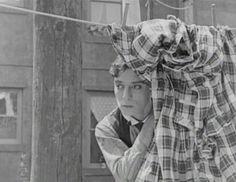 "Buster Keaton in ""Neighbors"""