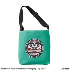 Northwest Pacific coast Haida Weeping skull Tote Bag