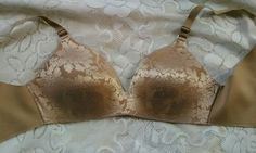 Soma 34C vanishing back wire free lace full coverage #soma #FullCoverageBras