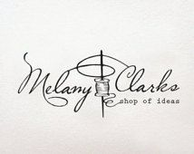 Needlework Sewing logo, business logo and watermark, retro logo, Needle logo, premade logo design - design logo