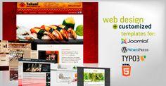 Web Design & Template Customization Web Design, Templates, Stencils, Design Web, Template, Website Designs, Western Food, Patterns