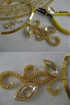 Золотко (комплект)   biser.info - всё о бисере и бисерном творчестве