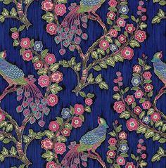 Home Decor Print Fabric- IMAN Magic Garden Jewel