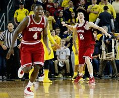 2013 Big Ten Champs!  Indiana Hoosiers vs. Michigan Wolverines - Photos - March 10, 2013 - ESPN