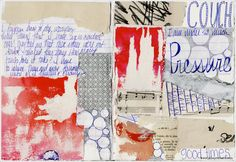 Some collage magic from mixed media artist Julie Prichard.