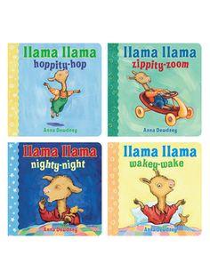 Llama Llama Board Book Set from Whiz Kids: Summer Activity Books on Gilt
