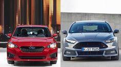 2017 Subaru Impreza vs 2015 Ford Focus http://youtube.com/CarsbestVideos2 More! http://Howtocomparecarinsurance.net