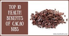 Cacao Nibs, Raw, Organic from the Best Cocoa Beans, USDA Certified by Pure Natural Miracles Raw Cacao Benefits, Chocolate Benefits, Health Benefits, Raw Cacao Nibs, Raw Cacao Powder, Cocoa Nibs, Cocoa Bar, Potassium Rich Foods, Cacao Chocolate