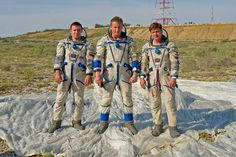 Check out some photos of the newest cosmonauts doing survival training in the desert this week.