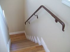 stair handrail wall mounted - Handrails For Stairs