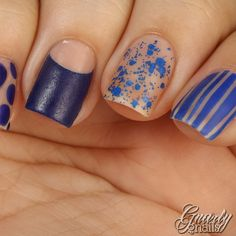 The Beauty Buffs - Trend: Royal Blue ~ Gnarly Gnails# thebeautybuffs
