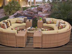 Round patio set!
