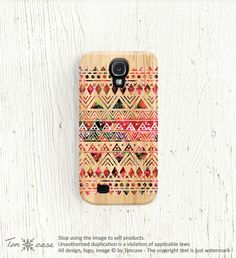 Samsung galaxy note 2 case tribal aztec wood galaxy s3 by TonCase, $22.99