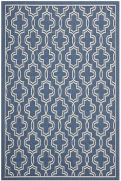 Martha Stewart Living™ Temple Gate All-Weather Area Rug - Outdoor Rugs - Outdoor… Dark Grey Dining Room, Deck Rug, Tub Remodel, Synthetic Rugs, Room Rugs, Outdoor Rooms, Rugs On Carpet, Carpets, Martha Stewart