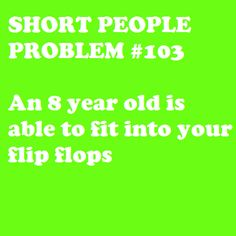Short People Problem #103: so, so disappointing when the youth are as big as you are