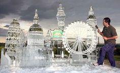Recopilación de las Mejores Esculturas de Hielo   talento  hielo arte