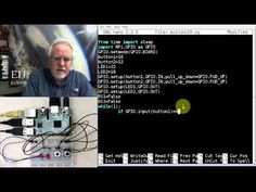 Raspberry Pi Linux LESSON 26: Controlling the Raspberry Pi GPIO pins from Python - YouTube