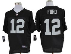 6ad36f13c Size 60 Oakland Raiders Jacoby Ford Black Stitched Nike Elite NFL Jersey