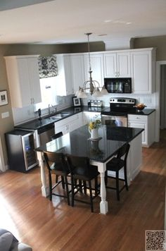 10. #Match the Kitchen - 22 Kitchen Islands That Must Be Part of Your #Remodel ... → DIY #Kitchen