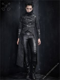 Scorpio Coat | Gothic, Steampunk, Rock, Fetish, and other Alternative fashion retail and wholesale apparel & accessories