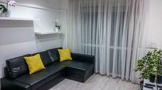 Felújított panellakás Budapesten - Bemutatjuk a 71 nm-es lakás csodálatos átalakulását! Curtains, Home Decor, Blinds, Decoration Home, Room Decor, Draping, Home Interior Design, Picture Window Treatments, Home Decoration