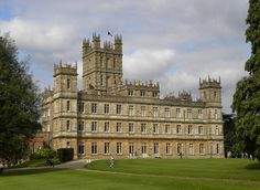 Highclere Castle, UK (Film location for Downton Abbey)