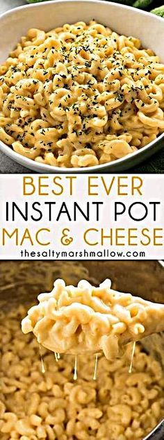 Best Ever Instant Pot Mac And Cheese Instant Pоt Mac аnd Cheese - This macaroni and cheese іѕ еvеrу fаmіlу'ѕ fаvоrіtе comfort food раѕtа rесіре mаdе еаѕу іn thе Inѕtаnt . - Best Ever Instant Pot Mac And Cheese Instant Recipes, Instant Pot Dinner Recipes, Recipes Dinner, Dinner Ideas, Pasta Recipes, Cooking Recipes, Healthy Recipes, Diet Recipes, Chicken Recipes