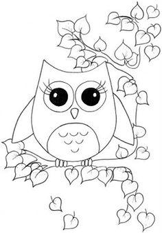 Very cute owl withvbig eyes