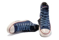42d6bae6160a Converse Shoes Blue Authentic DC Comics- Superman Chuck Taylor All Star  Womens Mens Canvas