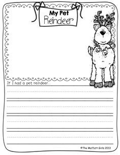 gingerbread man writing paper template