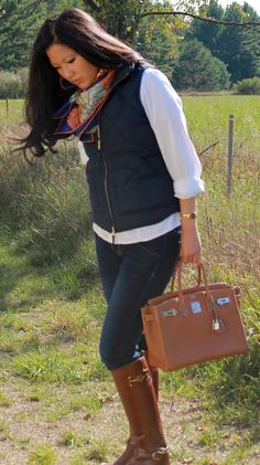 Style in the Middle & What to Wear Under: An Equestrian Look