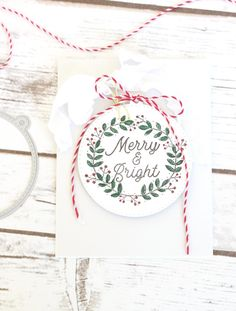 Merry & Bright Card by Stephanie Gold for Papertrey Ink (September 2017)