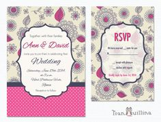 Wedding Invitation Printable  Bridal shower by tranquillina, $20.00