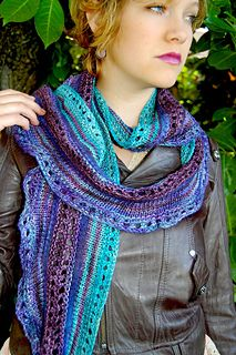 Good Magic Scarf...knitted... Beautiful colors #knit #KnittedScarf #Raverly
