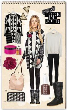 Look Du Jour: Stilblüte