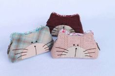 Cat Wallet Purse Sewing Kit, Easy Sewing projects with free Sewing Pattern, Craft Kit ShineKidsCrafts. $7.99, via Etsy.