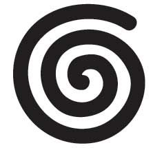 The Spiral, which is the oldest symbol known to be used in spiritual practices, reflects the universal pattern of growth and evolution. The spiral represents the goddess, the womb, fertility and life force energy. Reflected in the natural world, the Spiral is found in human physiology, plants, minerals, animals, energy patterns, weather, growth and death. The Spiral is a sacred symbol that reminds us of our evolving journey in life.