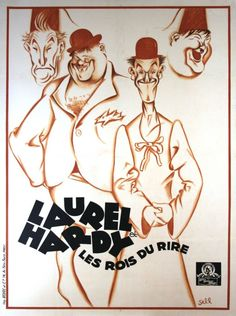 A French stock poster advertising Sons of the Desert.