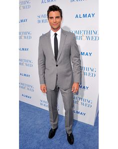 this gray suit for the husband. perfect.