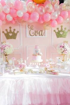 Pink and Gold Princess Birthday Party #princesspartyideas #princessbirthday #princessparty #pinkprincessparty