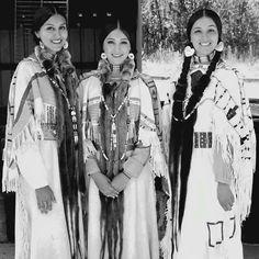 Three beautiful native American Women