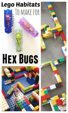 Hex Bugs Lego Habitats Engineering Project