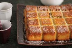 Moelleux aux Pommes, #MouleTablette #GuyDemarle #Flexipan