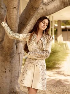 Lana Del Rey photographed by Thomas Whiteside for Elle UK's June 2017 issue