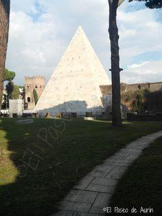 La pirámide de Caio Cestio. Y más…. | EL PASEO DE AURIN
