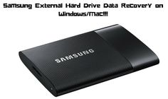 One can use Digital Media Recovery tool to recover deleted/lost/erased media files such as videos, photos and audio files from Samsung External Hard Drive.