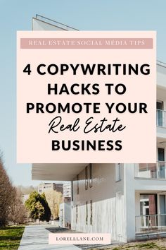 Click to read these 4 simple copywriting tweaks that will turn your social media post into a lead generation machine. With included samples! Perfect for real estate agents looking to increase their reach and strategies for real estate lead generation. #socialmediatips #realestate