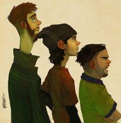 Du, Dudu e Edu - por Urashima
