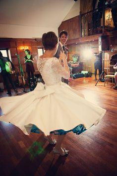 Wedding Dresses: A 1950s Inspired Audrey Dress - LoveLuxe Blog