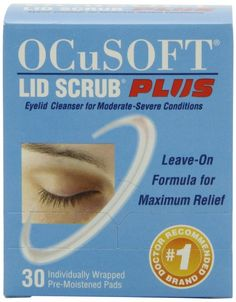 Ocusoft+lid+scrub+plus+Extra+Strength+leave+on-formula+for+Blepharitis+effectively+cleanses+and+removes+contaminants+for+maximum+relief.Ideal+for+moderate+to+severe+eyelid+condition. An+Ocusoft+lid+scrub+Extra+Strength+leave+on-formula+effectively+cleanses+and+removes+contaminants+for+maximum+re...